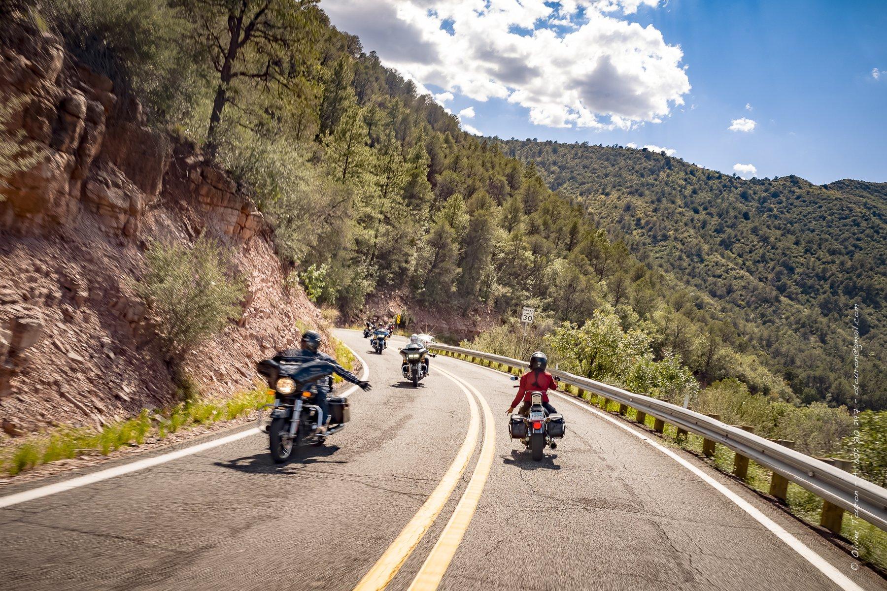 Septembre 2018. Arizona. Highway 89 entre Prescott et Flagstaff, en passant par Jerome et Sedona. // © Olivier Touron / Divergence